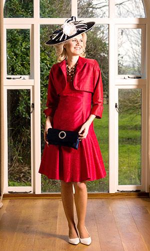 Black hat and silk bag Perri Ashby