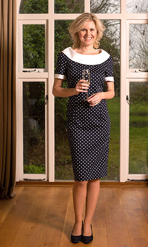 Black Wiggle Occasion Dress Perri Ashby