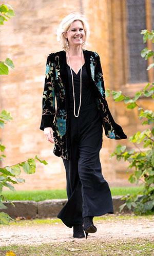 Silk Velvet Devore Jacket Perri Ashby Designer
