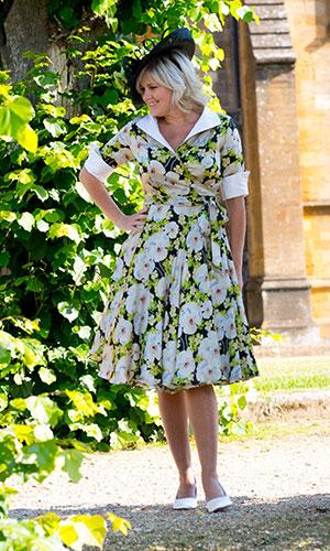 Floral Summer Garden Occasion Dress