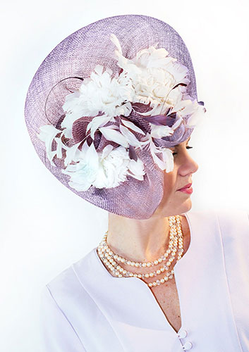 Lavender Purple Hat Perri Ashby