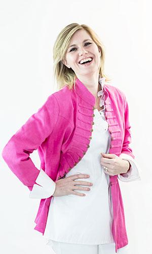 Pink Chinese Jacket