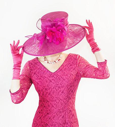 Pink Hat Perri Ashby Designer Sherborne London