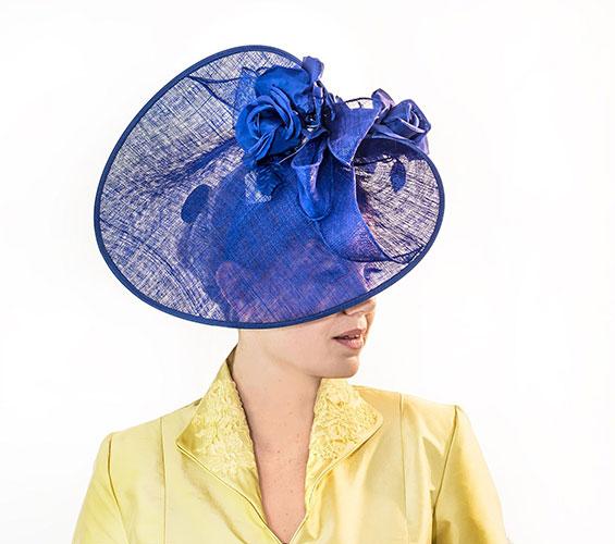 Royal Blue Hat Perri Ashby