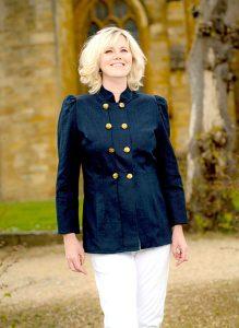 Linen Military Style Jacket
