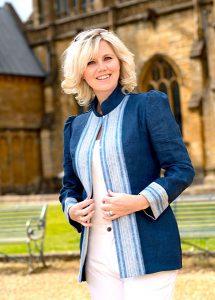 Linen Denim jacket Perri Ashby 2021